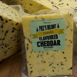 Pike's Delight Cheddar with...